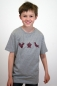 Preview: Kindershirt mit Origami-Motiv