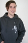 Preview: Sweatshirt mit Kosmonaut-Motiv