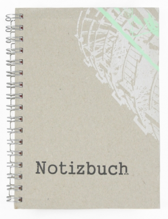"Notizbuch ""Konstruktion"""
